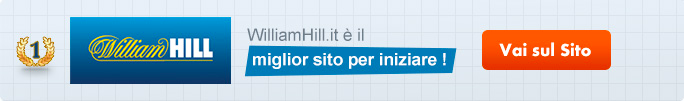 Bonus William Hill Italia 25 euro